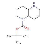 tert-butyl decahydro-1,5-naphthyridine-1-carboxylate