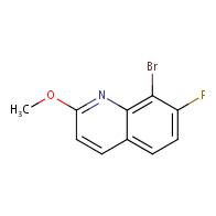 8-Bromo-7-fluoro-2-methoxyquinoline
