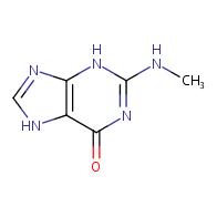 2-(methylamino)-6,7-dihydro-3H-purin-6-one