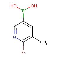 (6-Bromo-5-methylpyridin-3-yl)boronic acid