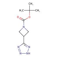 1-Boc--3-(2H-1,2,3,4-tetrazol-5-yl)azetidine