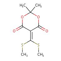5-(Bis(methylthio)methylene)-2,2-dimethyl-1,3-dioxane-4,6-dione