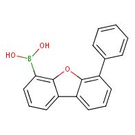 (6-Phenyldibenzo[b,d]furan-4-yl)boronic acid