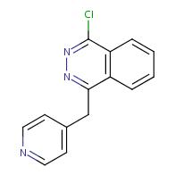 1-chloro-4-(pyridin-4-ylmethyl)phthalazine