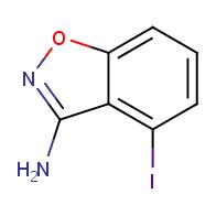 3-Amino-4-iodobenzisoxazole
