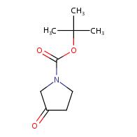 tert-butyl 3-oxopyrrolidine-1-carboxylate