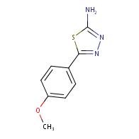 5-(4-methoxyphenyl)-1,3,4-thiadiazol-2-amine