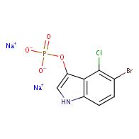 1H-Indol-3-ol,5-bromo-4-chloro-, 3-(dihydrogen phosphate), sodium salt (1:2)