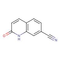 2-Oxo-1,2-dihydroquinoline-7-carbonitrile