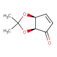(3aS,6aS)-2,2-dimethyl-2H,3aH,4H,6aH-cyclopenta[d][1,3]dioxol-4-one