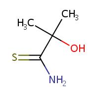 2-hydroxy-2-methylpropanethioamide