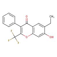 6-Ethyl-7-hydroxy-3-phenyl-2-(trifluoromethyl)-4H-chromen-4-one