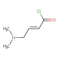 (E)-4-(dimethylamino)but-2-enoyl chloride