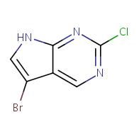 5-bromo-2-chloro-7H-pyrrolo[2,3-d]pyrimidine
