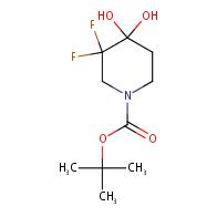 tert-Butyl 3,3-difluoro-4,4-dihydroxypiperidine-1-carboxylate