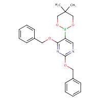 2,4-bis(benzyloxy)-5-(5,5-dimethyl-1,3,2-dioxaborinan-2-yl)pyrimidine