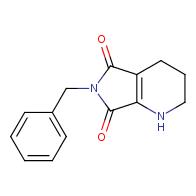 6-benzyl-1,2,3,4-tetrahydro-5H-pyrrolo[3,4-b]pyridine-5,7(6H)-dione