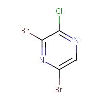 3,5-dibromo-2-chloropyrazine