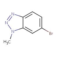6-bromo-1-methyl-1H-benzo[d][1,2,3]triazole