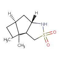 (6S,7aS)-8,8-dimethylhexahydro-3H-3a,6-methanobenzo[c]isothiazole 2,2-dioxide