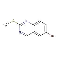 6-bromo-2-(methylsulfanyl)quinazoline