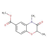 Methyl 2,4-dimethyl-3-oxo-3,4-dihydro-2H-benzo[b][1,4]oxazine-6-carboxylate