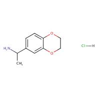1-(2,3-Dihydrobenzo[b][1,4]dioxin-6-yl)ethan-1-amine hydrochloride
