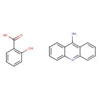 acridin-9-amine;2-hydroxybenzoic acid