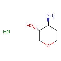 (3R,4S)-4-aminooxan-3-ol hydrochloride
