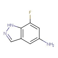 7-fluoro-1H-indazol-5-amine