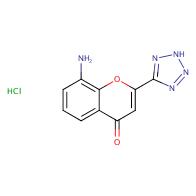 8-Amino-2-(2H-tetrazol-5-yl)-4H-chromen-4-one hydrochloride