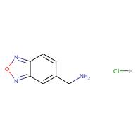 Benzo[c][1,2,5]oxadiazol-5-ylmethanamine hydrochloride