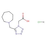 2-(5-(Azepan-1-ylmethyl)-1H-tetrazol-1-yl)acetic acid hydrochloride