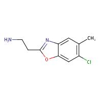 2-(6-chloro-5-methyl-1,3-benzoxazol-2-yl)ethanamine