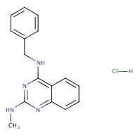 N2-Methyl-N4-(phenylmethyl)-2,4-quinazolinediamine hydrochloride
