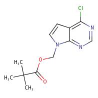 (4-Chloro-7H-pyrrolo[2,3-d]pyrimidin-7-yl)methyl pivalate
