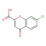 7-chloro-4-oxo-4H-chromene-2-carboxylic acid