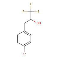3-(4-Bromophenyl)-1,1,1-trifluoropropan-2-ol