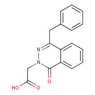 2-(4-benzyl-1-oxophthalazin-2(1H)-yl)acetic acid