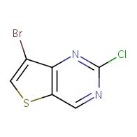 7-bromo-2-chlorothieno[3,2-d]pyrimidine