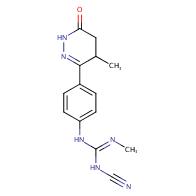 1-cyano-2-methyl-3-[4-(4-methyl-6-oxo-4,5-dihydro-1H-pyridazin-3-yl)phenyl]guanidine