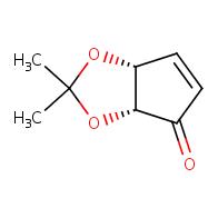 (3aR,6aR)-2,2-dimethyl-2H,3aH,4H,6aH-cyclopenta[d][1,3]dioxol-4-one