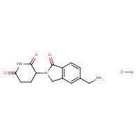 3-[6-(aminomethyl)-3-oxo-1H-isoindol-2-yl]piperidine-2,6-dione;hydrochloride