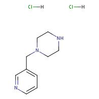 1-(Pyridin-3-ylmethyl)piperazine dihydrochloride