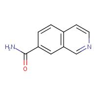 Isoquinoline-7-carboxamide