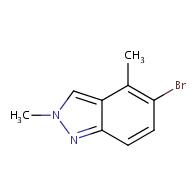 5-bromo-2,4-dimethyl-2H-indazole