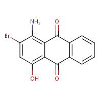 1-amino-2-bromo-4-hydroxyanthracene-9,10-dione