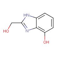 2-(hydroxymethyl)-1H-benzo[d]imidazol-4-ol