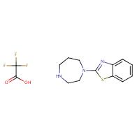 2-(1,4-Diazepan-1-yl)benzo[d]thiazole 2,2,2-trifluoroacetate