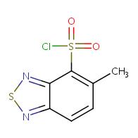 5-methyl-2,1,3-benzothiadiazole-4-sulfonyl chloride
